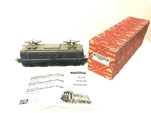 Märklin H0 3013 E-Lok SEH800 wie neu unglaublicher Zustand!! Originalverpackung
