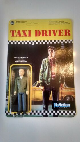 Nouveau Taxi Driver Travis Bickle RéAction Action Figure De Niro Funko non perforé