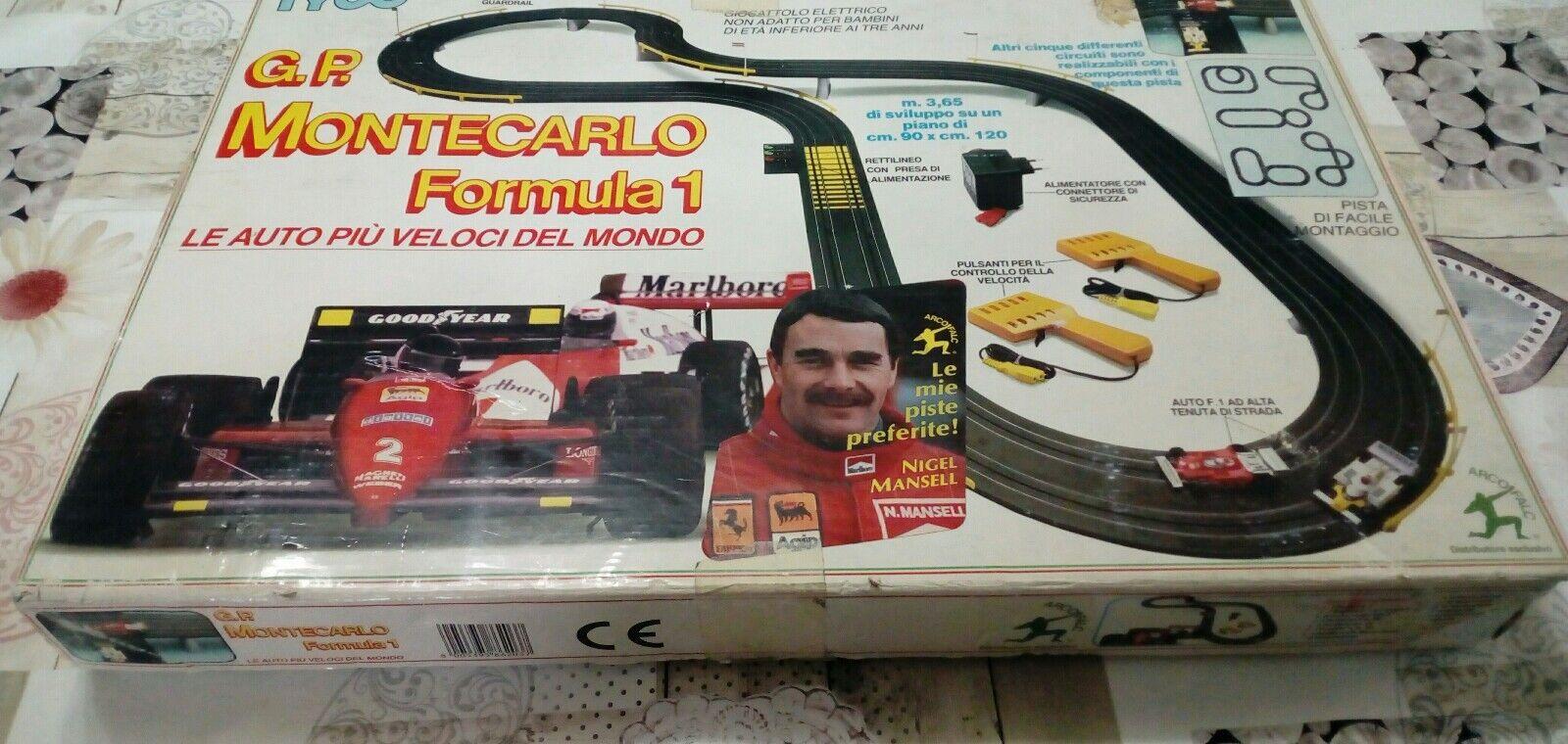 Pista elettrica Nigel Mansell TICO Arcofalc