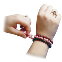 1mm Diameter Stretch Magic Bead Jewelry Elastic Cord Clear Black 5 Or 25 Meters
