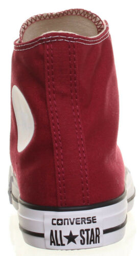 Uk Chuck High Size Top Star 12 Maroon Converse 3 Taylor Trainers All R6gxzwIq4E