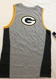 sale retailer 574ce 43de3 Details about NFL Green Bay Packers Youth Gray Fan Gear Tank Top Size-XL  (18) (J)