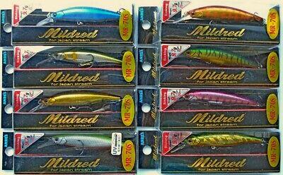 Raubfische Köder Barsch Andlers Republic Mildred MR-70JS Japan Wobbler Hecht