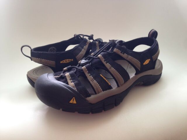 bb22ba5a7ee KEEN Mens Newport H2 Sandals 1001906 Black/stone Gray Size 10 for ...