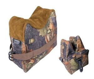 Jack Pyke Rifle Rest Set English Oak Front Amp Rear Bean Bag