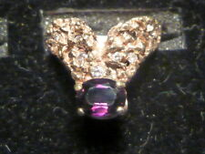 Color change SAPPHIRE RING in 14K gold with diamonds LADIES