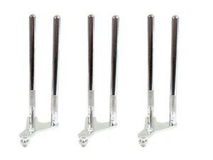 3 x aluminium haken stange ohren f r delkim fox und f r bissanzeiger ngt karpfen ebay. Black Bedroom Furniture Sets. Home Design Ideas