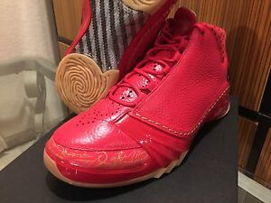 AIR JORDAN RETRO 23 Chi Town Red Trophy Room Solefly 11 6 Carmine ... 6e505d89d