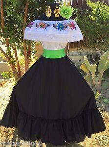 0c62832e2 Image is loading Mexican-Dress-Fiesta-5-De-Mayo-Wedding-Black-