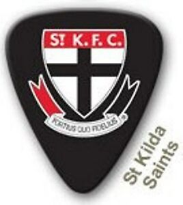 St-Kilda-Saints-Guitar-Picks-5-Pack-Official-AFL-Product