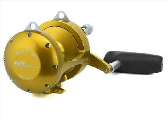 Avet EXW 30 2 gold Lever  Drag 2-Speed Reel EXW-302-CF-GD - FREE SHIPPING -  authentic quality