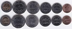 Bolivia-Bolivia-10-20-50-Centavos-1-2-5-Bolivianos-2012-UNC-set