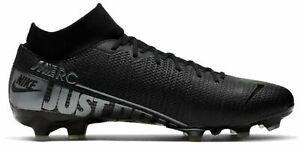 Nike-Hommes-Cames-Football-Chaussures-Nike-Mercurial-Superfly-7-Academy-MG-noir