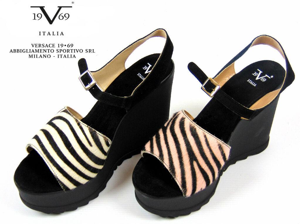 V1969 Italia Claudia Wedge Shoes/Sandals.