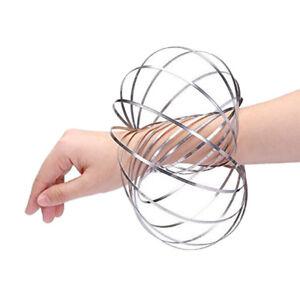Wholesale 50 PC Flow Ring Arm Slinky Kinetic Motion Spring Ball Fidget