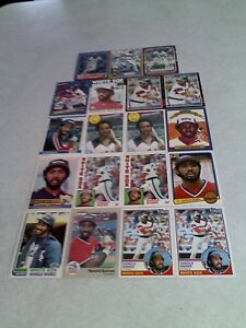 Harold-Baines-Lot-of-100-cards-80-DIFFERENT-Baseball