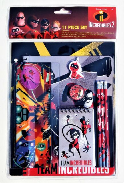 AVENGERS INFINITY WAR 11-Pc Value Pack Back-to-School Stationery Supply Set $20