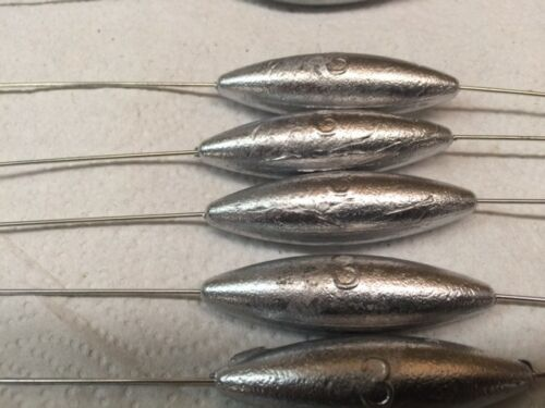 15  BOTTOM BOUNCERS --5 each 2 oz- 3 oz and 4 oz made with .045 diameter wire
