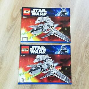 LEGO-INSTRUCTIONS-BOOKLET-ONLY-Star-Wars-Palpatine-039-s-Shuttle-8096