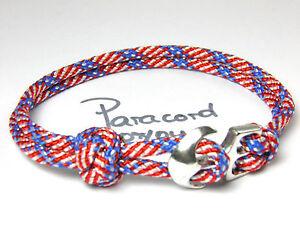 Paracord-armband-ankerverschlus-surfer-Bracelet-homme-armband-stars-n-bandes