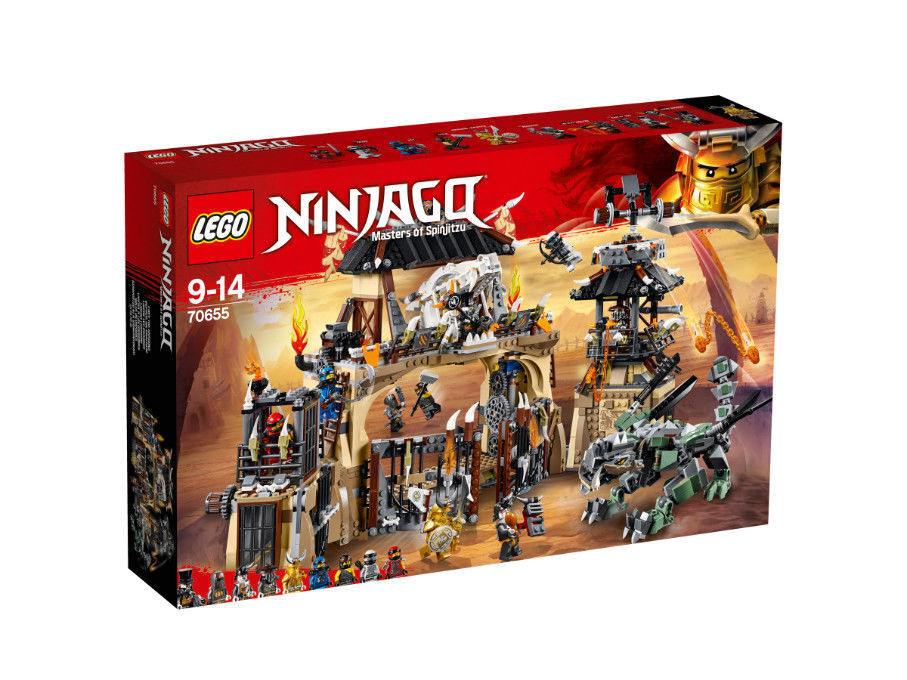 LEGO NINJAGO Drachengrube 70655 -  Neu