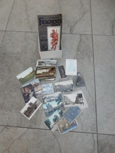 100 POSTCARDS MANY EDWARDIAN AND WW1 ERA WITH SOME LATER + FRAGMENTS