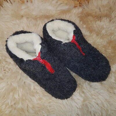 Merino's Natural De Lana De Oveja Botas acogedor Pie Zapatillas de piel de oveja para mujeres Damas RZ