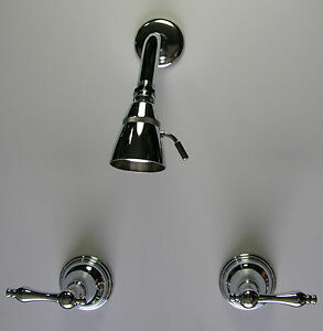 Polished-Chrome-Shower-Faucets-Set-Match-for-our-tub-and-sink-faucets-free-ship