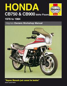 Haynes-Manual-0535-Honda-CB750-amp-CB900-DOHC-Fours-78-84-workshop-service