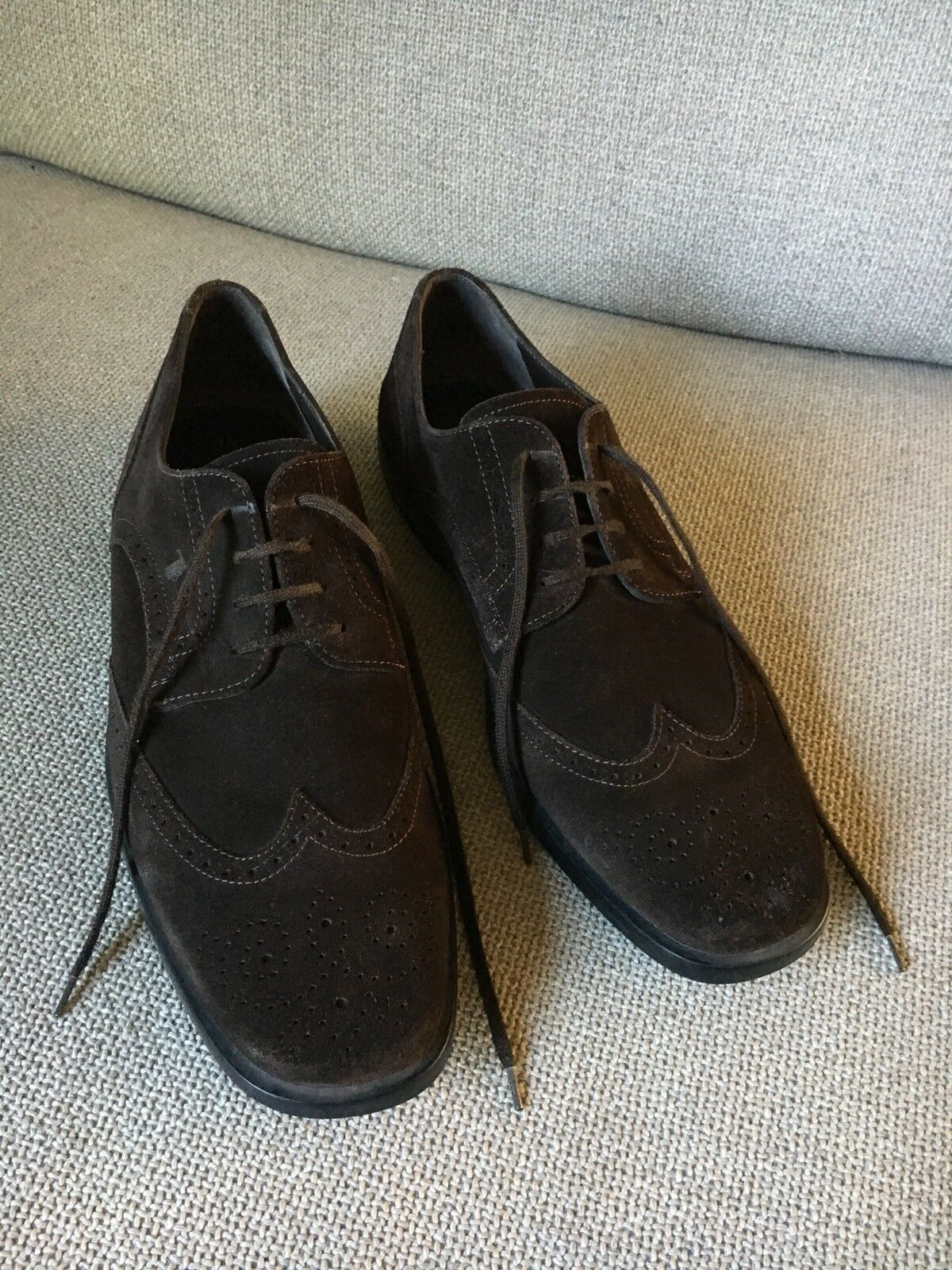 Tods Brown Suede shoes Size 10