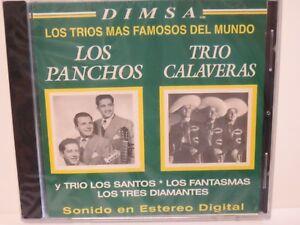 TRIO-CALAVERAS-y-LOS-TRIOS-MAS-FAMOSOS-DEL-MUNDO-LOS-PANCHOS-2004-NEW-CD