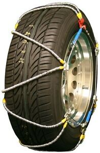 285-40-17-285-40R17-Tire-Chains-High-Volt-Z-Cable-Traction-Passenger-Truck-SUV