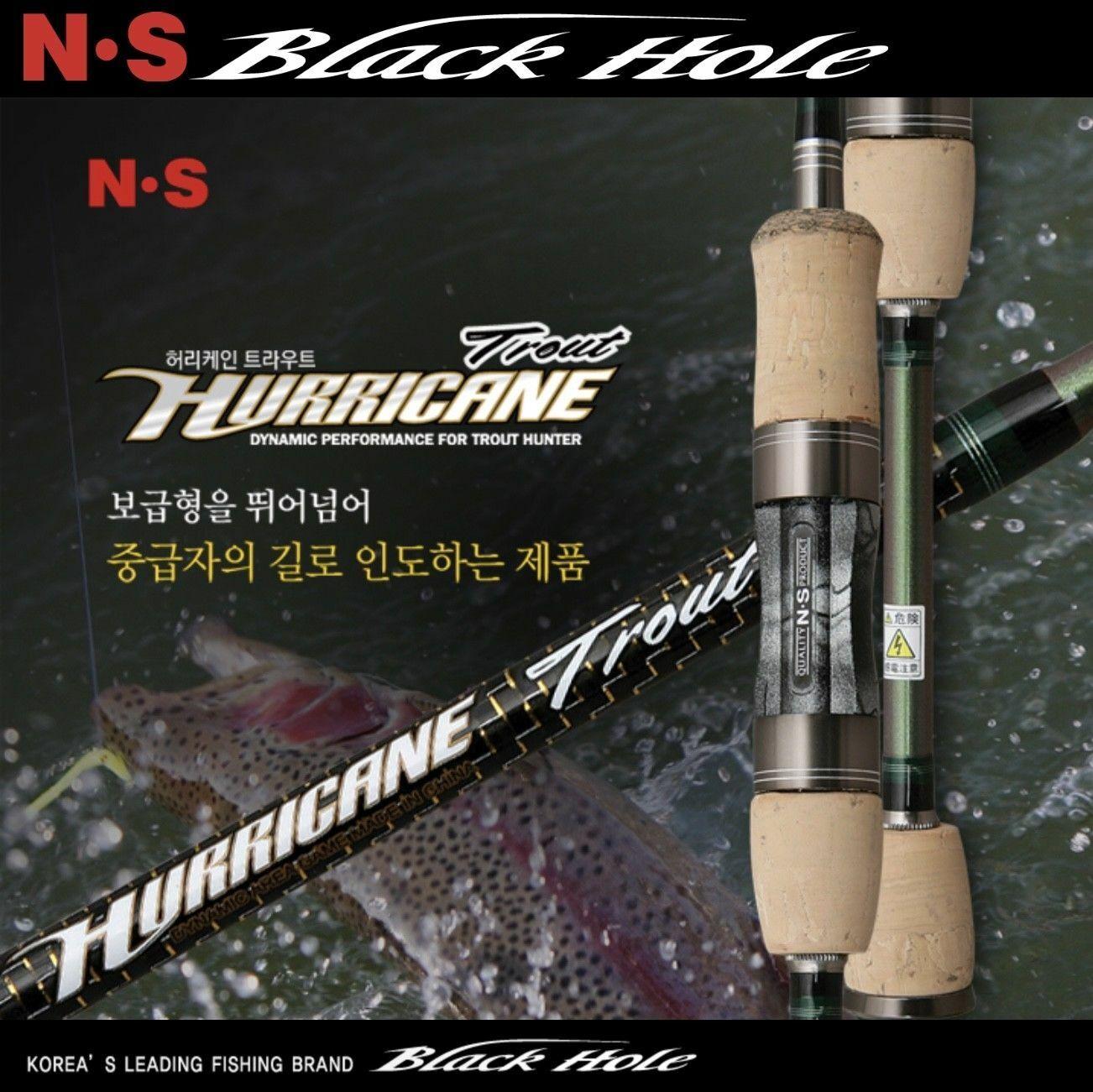 NS Varillas de agujero negro huracán serie Trucha Varilla de  S-602UL  80% de descuento