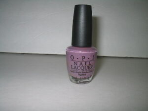 Details about RARE OPI Nail Polish Lacquer Parlezvous Parlez-Vous OPI? Gray  Purple Cream VHTF