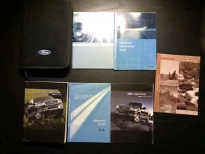 ford    owners manual  case oem
