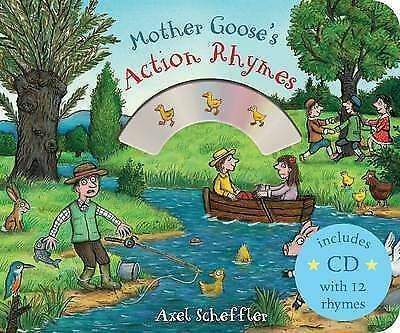 Mother Goose's Action Rhymes (Mother Goose's Rhymes), Scheffler, Axel , Good | F