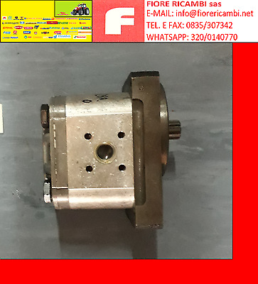 Doppia pompa idraulica per Deutz 22,5 14 CC