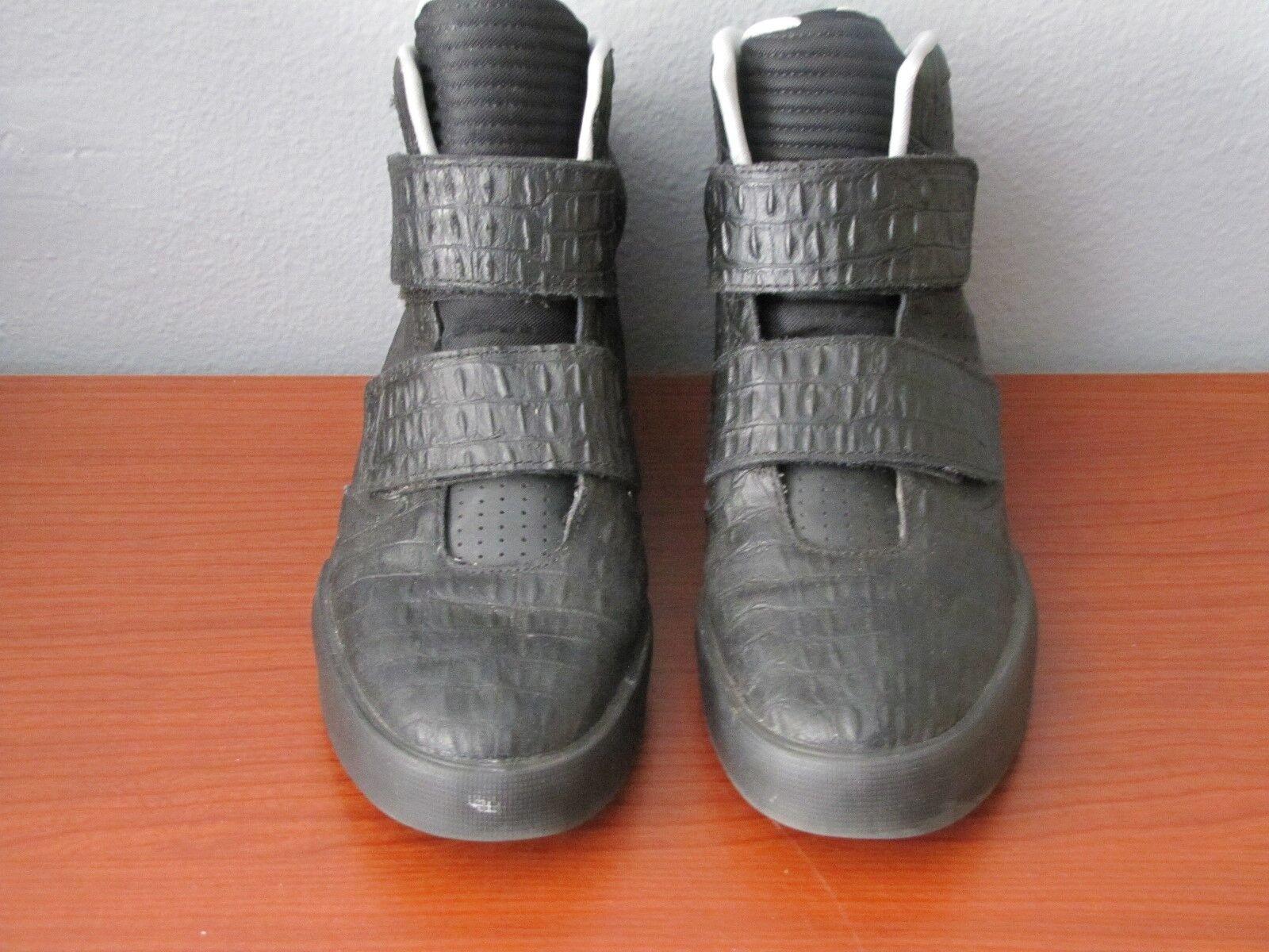 Nike flystepper 2k3 yeezy scarpe da ginnastica, nero / grigio 677473-020 rari uomini