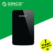 "ORICO 2.5"" SATA 3.0 to USB 3.0 HDD External Hard Drive Enclosure Case Black"