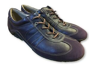 purple Leather Sneakers Tennis Shoes