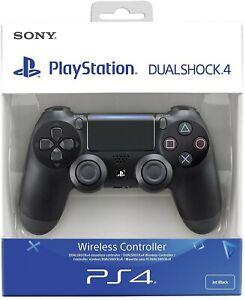 CONTROLLER SONY PS4 DUALSHOCK 4 PAD NERO JET BLACK PLAYSTATION 4 ORIGINALE