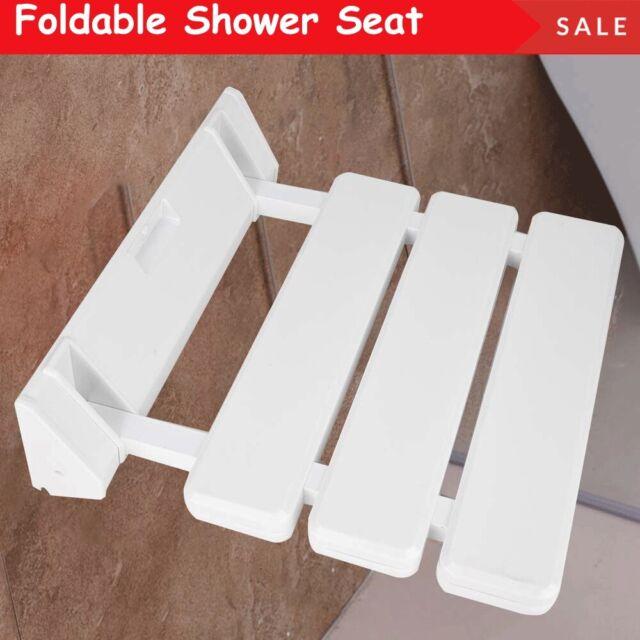 Incredible Bathroom Folding Shower Seat Wall Mount Disabled Elder Children Safe Bath Chair Machost Co Dining Chair Design Ideas Machostcouk