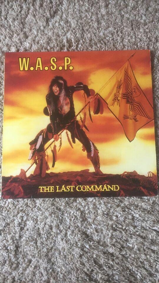 LP, W.A.S.P, The Last Command