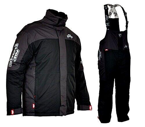 Fox Rage wintersuit nero grigio TG. XXL