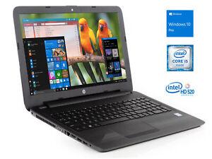 Hp-250-G5-15-6-034-HD-Laptop-i5-6200U-4GB-RAM-500GB-HDD-DVDRW-Windows-10-Pro