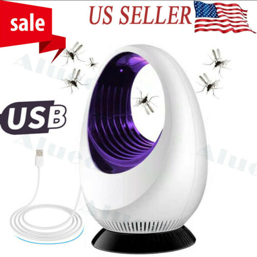 2020 USB Electronic Bug Insect Mosquito Killer Mosquito Trap Inhaled Lamp