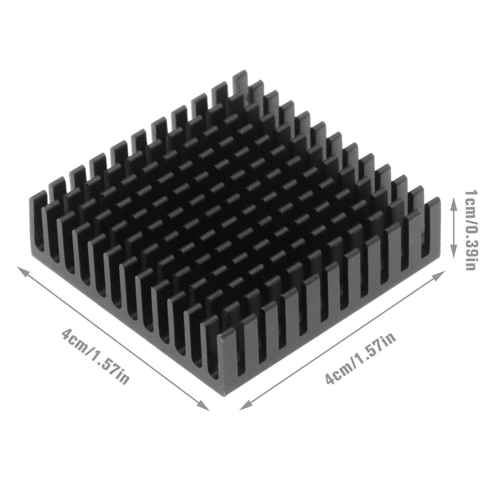 3Pcs Vibration Damper Heatsink for 3D Printer Nema17 Stepper Motor