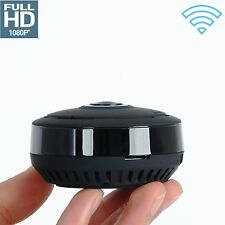 New Mini 360 Degree Wireless 1080P HD Fisheye IP Camera Two Way  wifi Panoramic