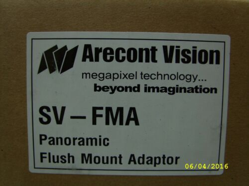 Arecont Vision SV-FMAFlush Mount Adapter for 8MP and 20MP SurroundVideo