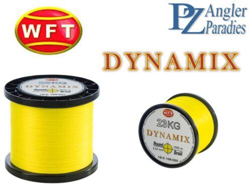 50m WFT Dynamix KG Neon Gelb verschidene Stärken  0,04€ pro 1m